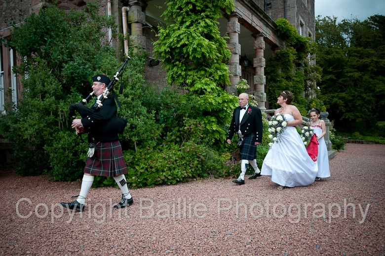 Comlongon Castle Wedding