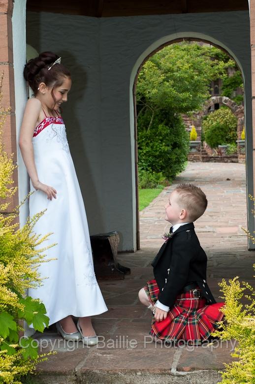 Bridesmaid and Page Boy