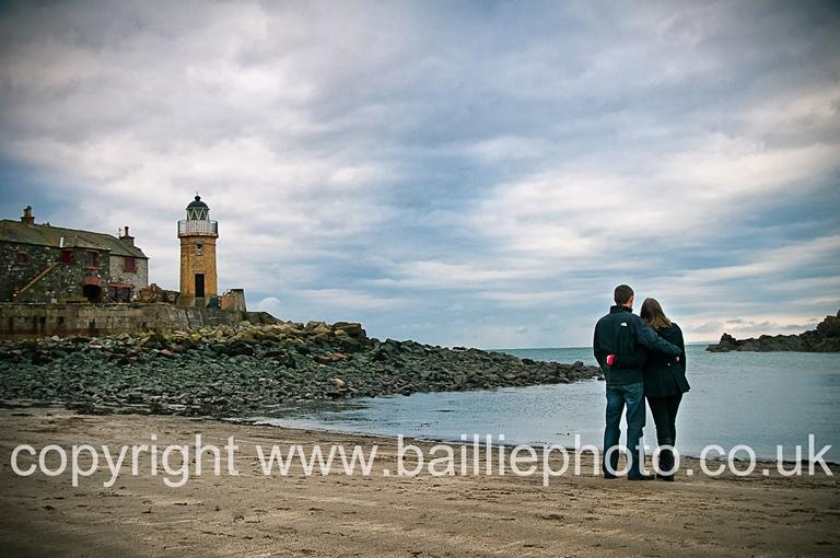 Engagement Shoot at Portpatrick