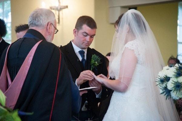 Leswalt Church Wedding