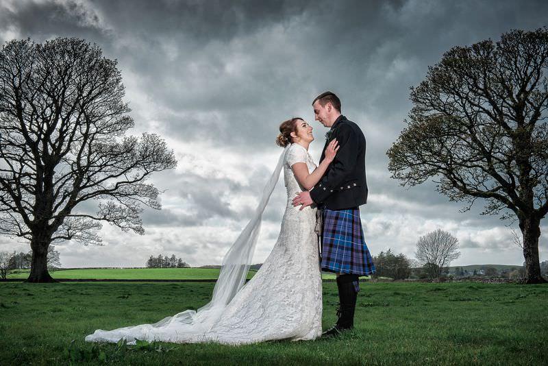 Wedding Dramatic Sky
