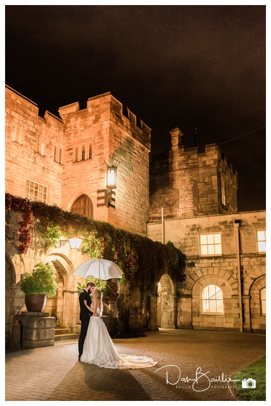 Bride and Groom Castle