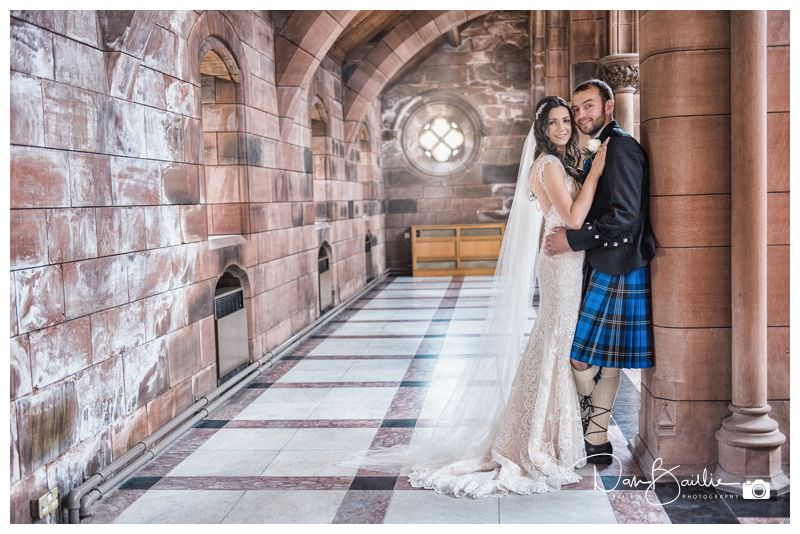 Crichton Church Wedding Dumfries