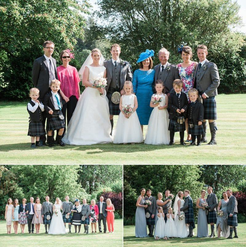 Family Wedding Photographs