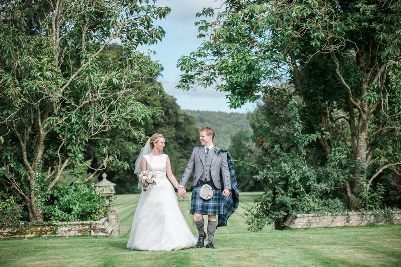 Wedding Reception At Lochinch