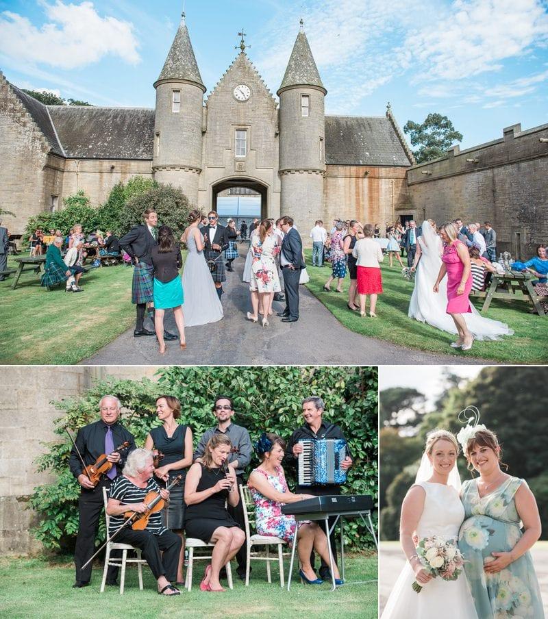 Wedding Reception at Lochinch