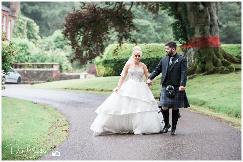 Wedding at Mabie House