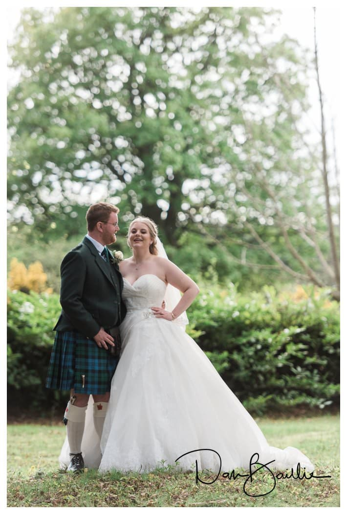 Wedding in Dalbeattie Scotland