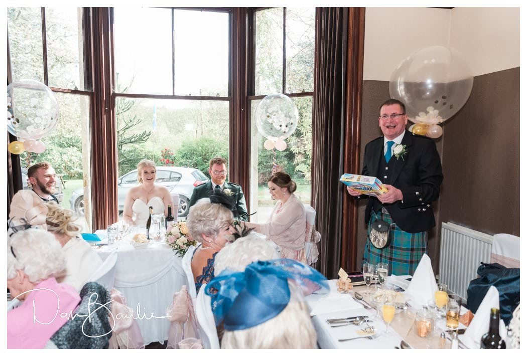 Speeches at Colvend House Dalbeattie