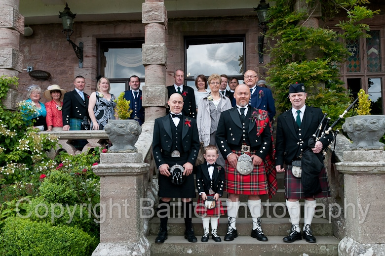 Comlongon Castle Wedding