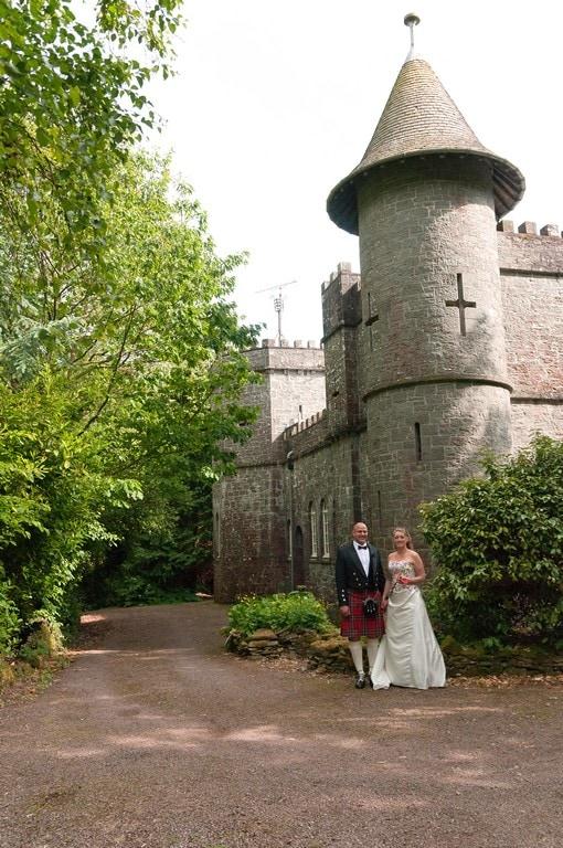 Knockbrex Castle Wedding Photography