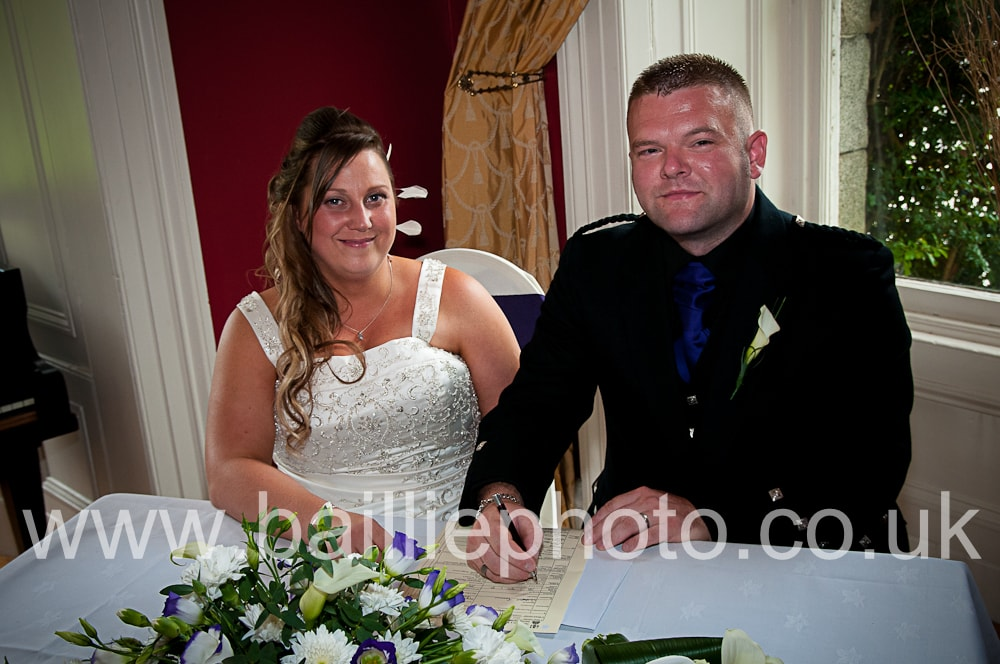 Wedding Photography Newton Stewart