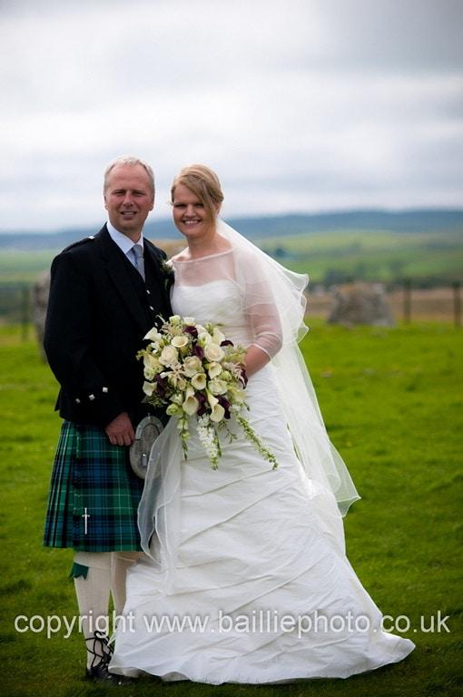 Wigtown Wedding & North West Castle Wedding Reception