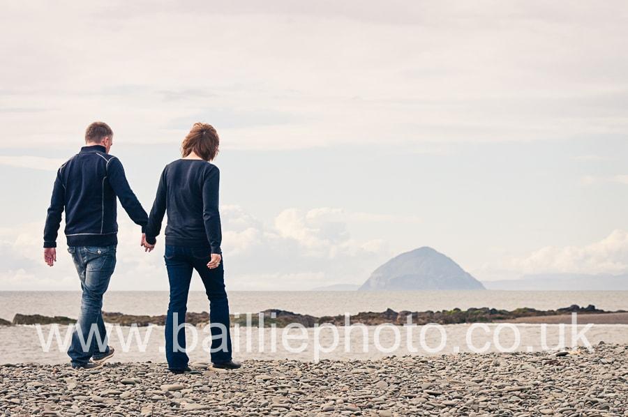 Engagement shoot at Ballantrae