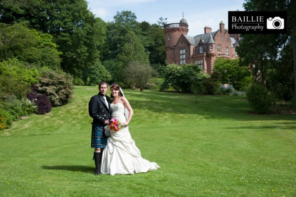 Wedding at Threave Gardens