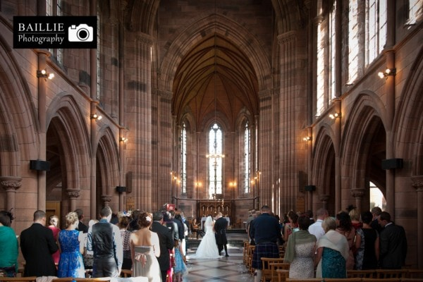 Crichton Church Wedding