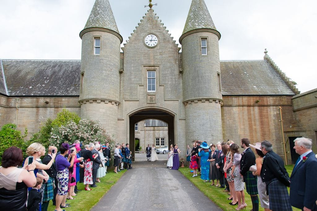 Lochinch Castle Wedding