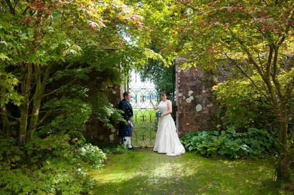 Castle Kennedy Wedding photographs