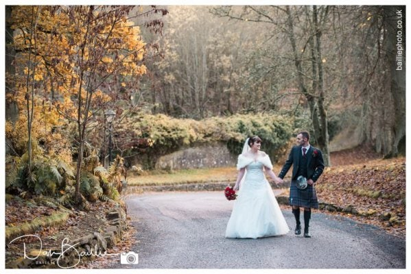 Scotland Winter Wedding