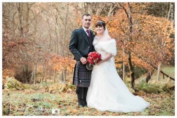 Scotland Winter Wedding