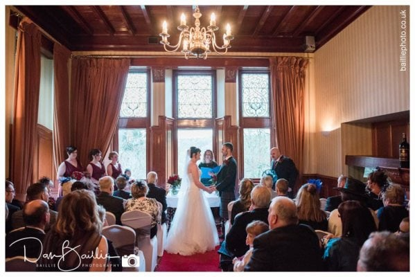 Cartland Bridge Hotel Wedding