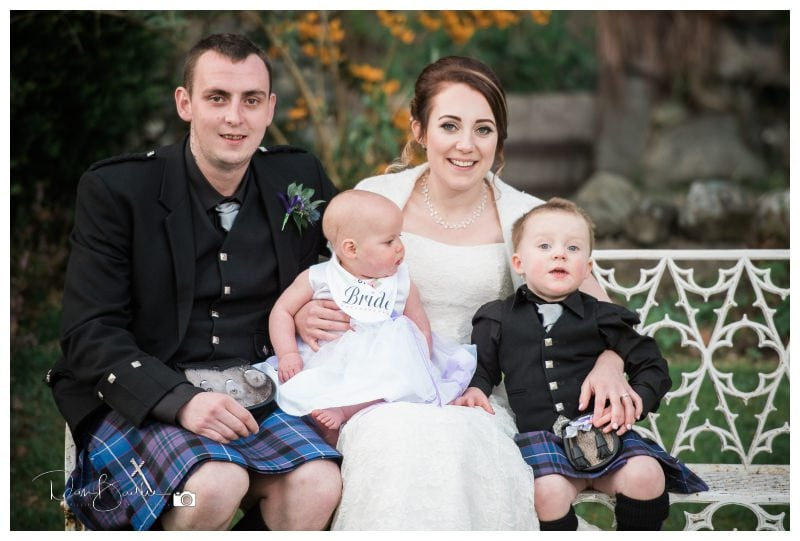 Wedding at Creebridge Hotel in Newton Stewart