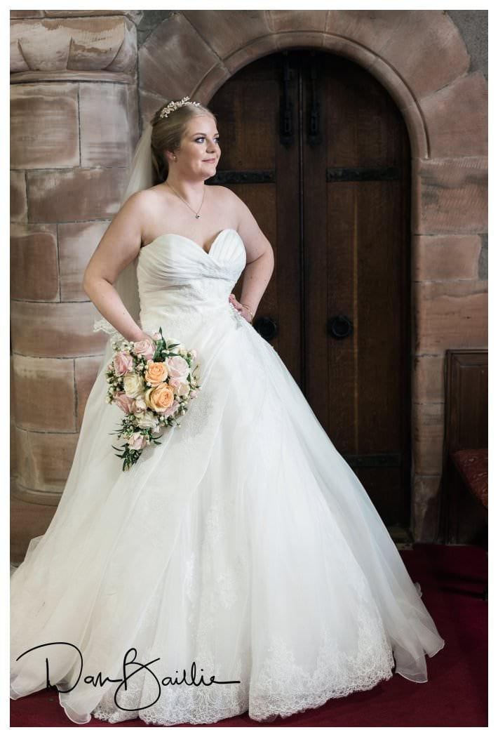 Bride in Colvend Church