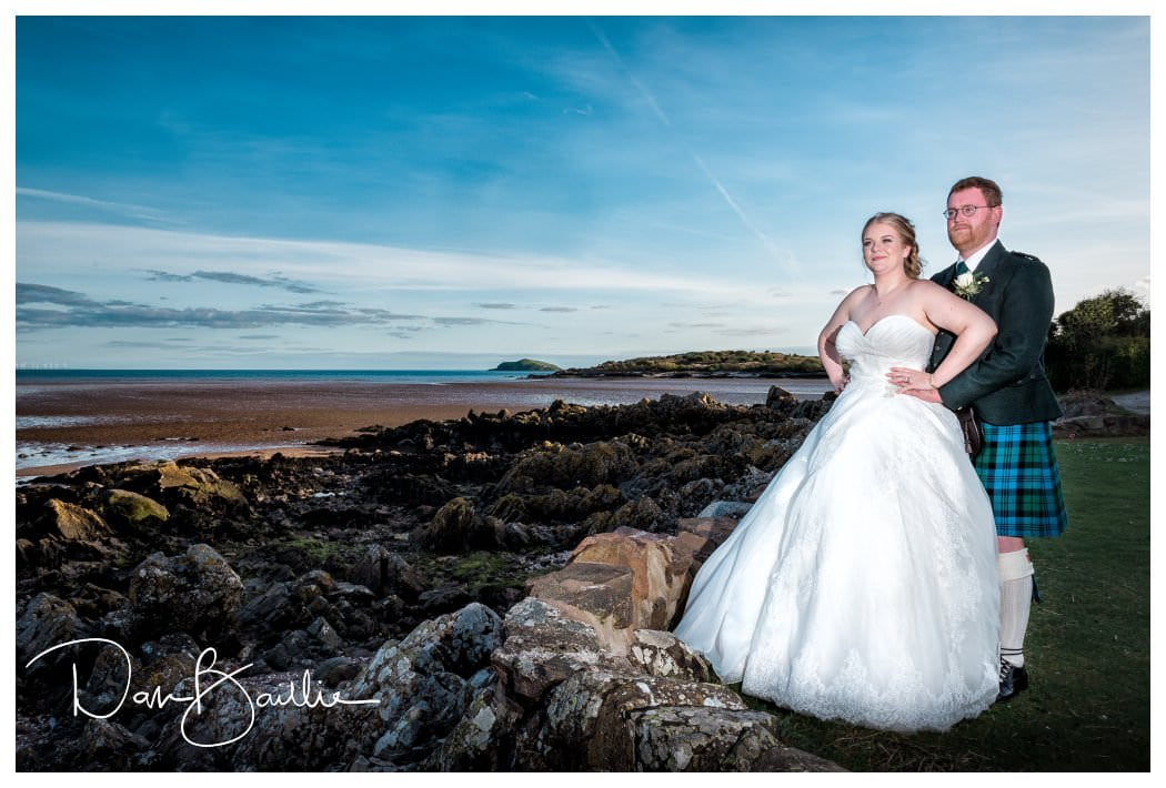 Wedding Day Rockcliffe Beach