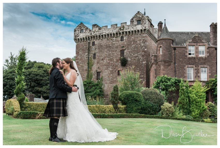 Kristen and Peter's Castle Wedding