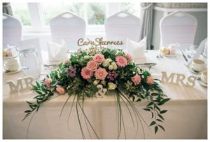 wedding flowers centrepiece