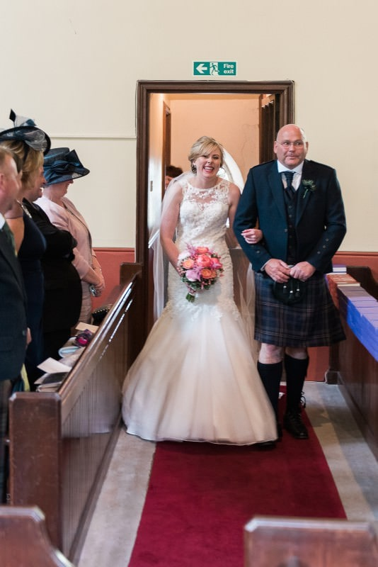 Wedding at Inch Church