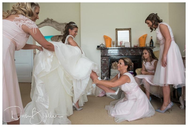 bride and garter