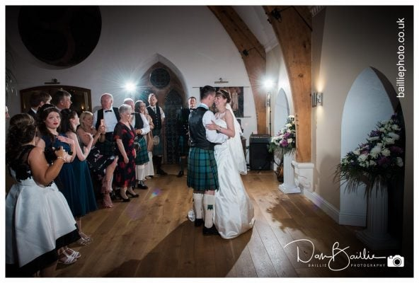 Seaside Wedding at The Old Church portpatrick