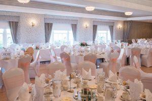 north west castle wedding reception