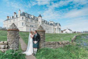 wedding day at portpatrick hotel