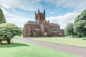 crichton church dumfries large wedding venue