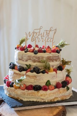 wedding fruit cake
