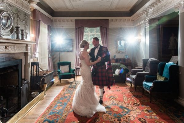 First Dance at Dunskey House