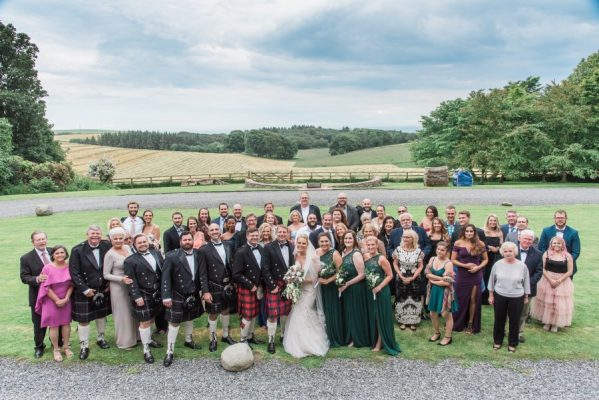 Wedding Guests at Dunskey House