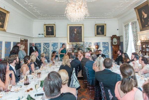 Wedding Reception at Dunskey House