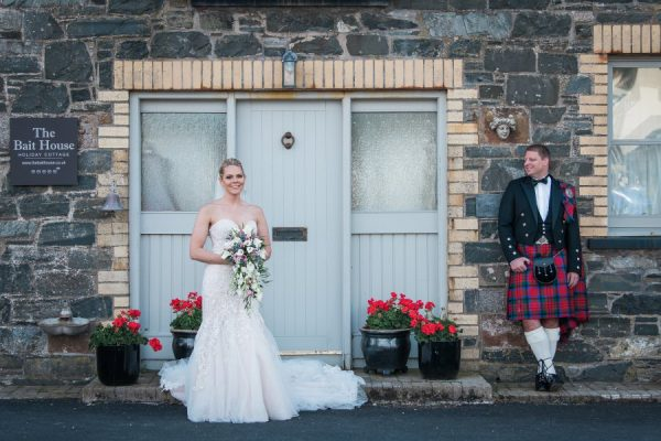 Wedding at Portpatrick