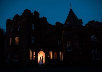 friars carse wedding after dark