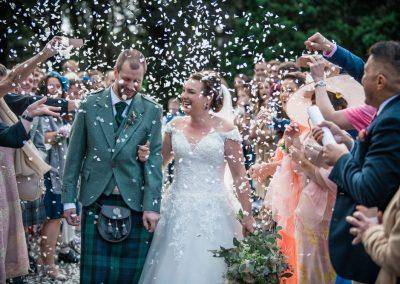 friars carse wedding confetti