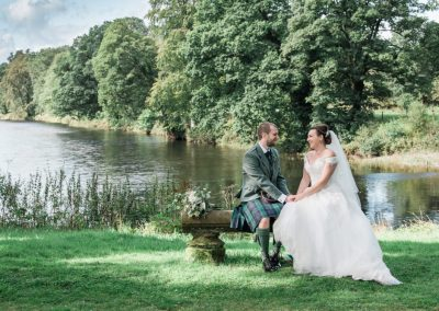friars carse river wedding