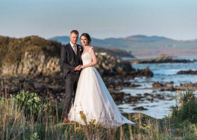 Mossyard Beach Wedding Photo