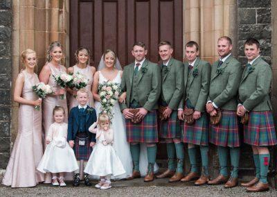 Newton Stewart Wedding