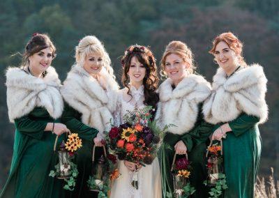 Scottish Autumn Wedding