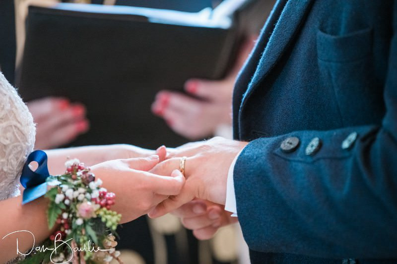 excahnging wedding rings