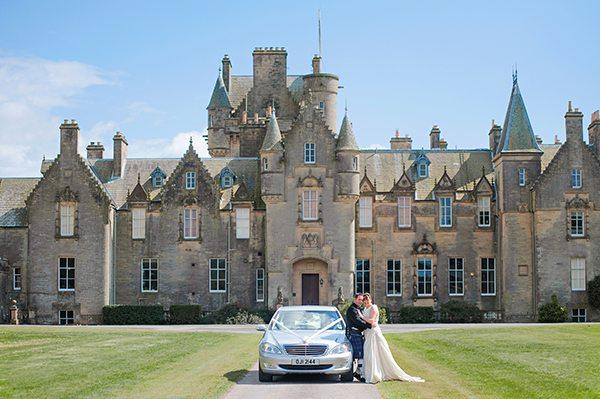 stranraer castle wedding photography