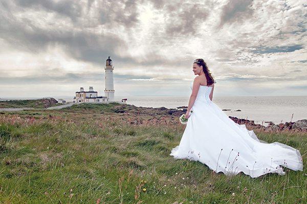 stranraer lighthouse wedding